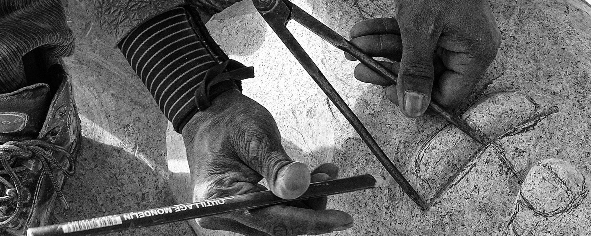 DEMONSTRATION DE SCULPTURE SUR PIERRE ET BRONZE – DIMANCHE 6 JUIN 14H30-17H30