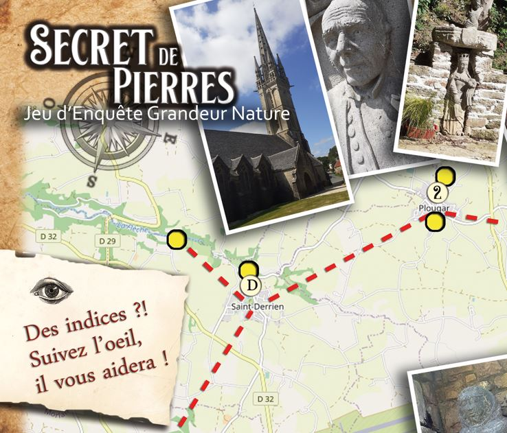 ENQUÊTE «SECRET DE PIERRES» / Journée du Patrimoine – Dimanche 19 septembre